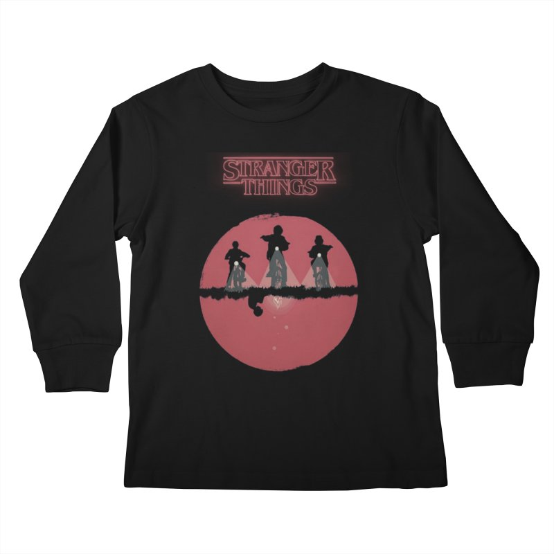 Stranger Kids Longsleeve T-Shirt by MrWayne