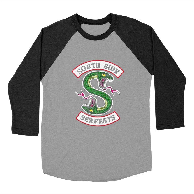 South Side Serpents Women's Baseball Triblend Longsleeve T-Shirt by MrWayne