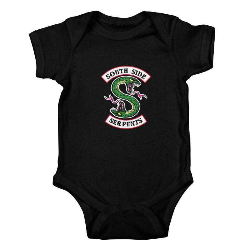 South Side Serpents Kids Baby Bodysuit by MrWayne