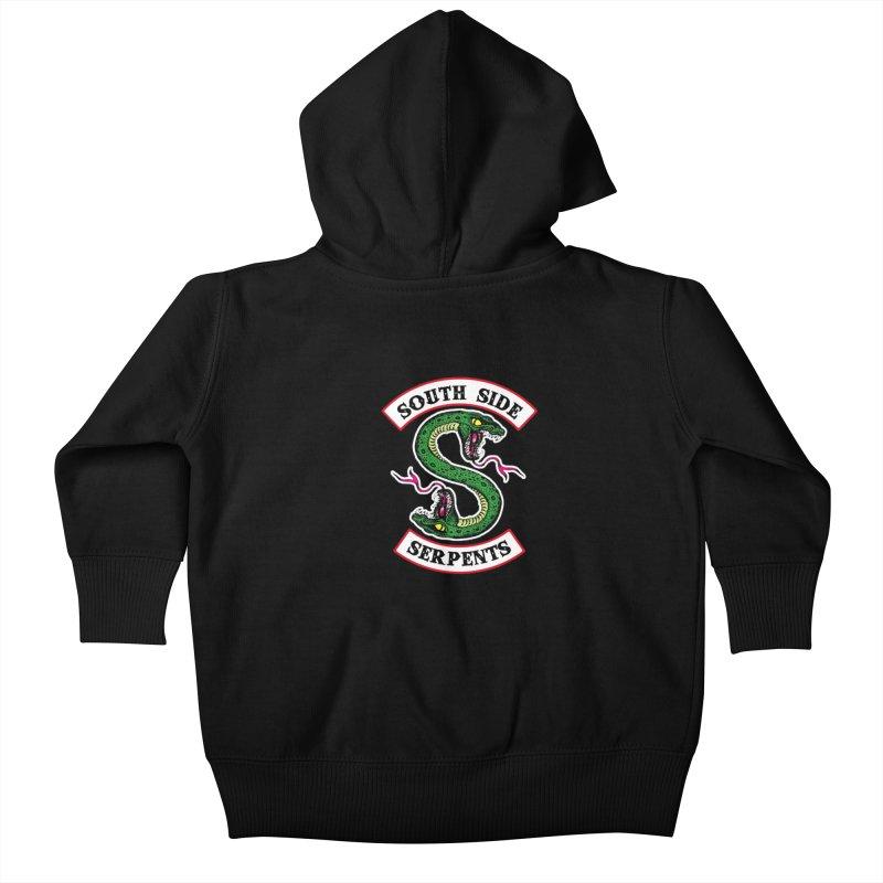 South Side Serpents Kids Baby Zip-Up Hoody by MrWayne