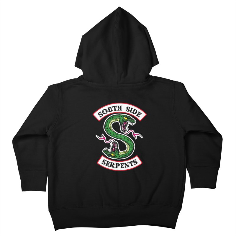 South Side Serpents Kids Toddler Zip-Up Hoody by MrWayne