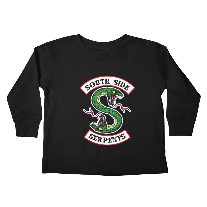 South Side Serpents Kids Toddler Longsleeve T-Shirt by MrWayne