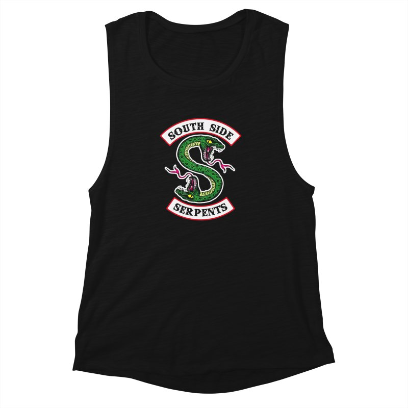 South Side Serpents Women's Muscle Tank by MrWayne