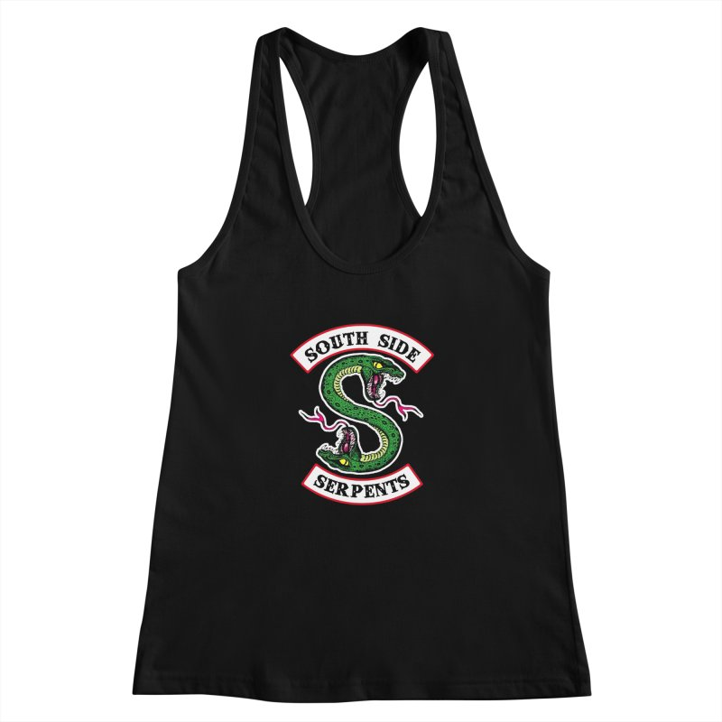 South Side Serpents Women's Racerback Tank by MrWayne