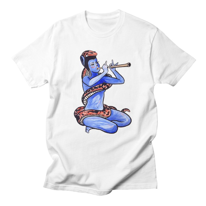 Cat Trumpeter Men's T-Shirt by Ms Browns Lounge