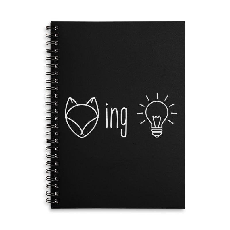 F(ox)ing Brilliant! for Dark Colors Accessories Notebook by Ms. Christi Design