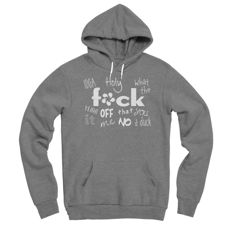 F*ck Phrases Women's Pullover Hoody by Ms. Christi Design