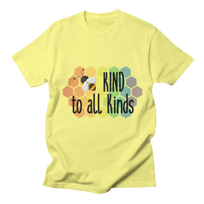 Bee Kind Men's T-Shirt by Ms. Christi Design