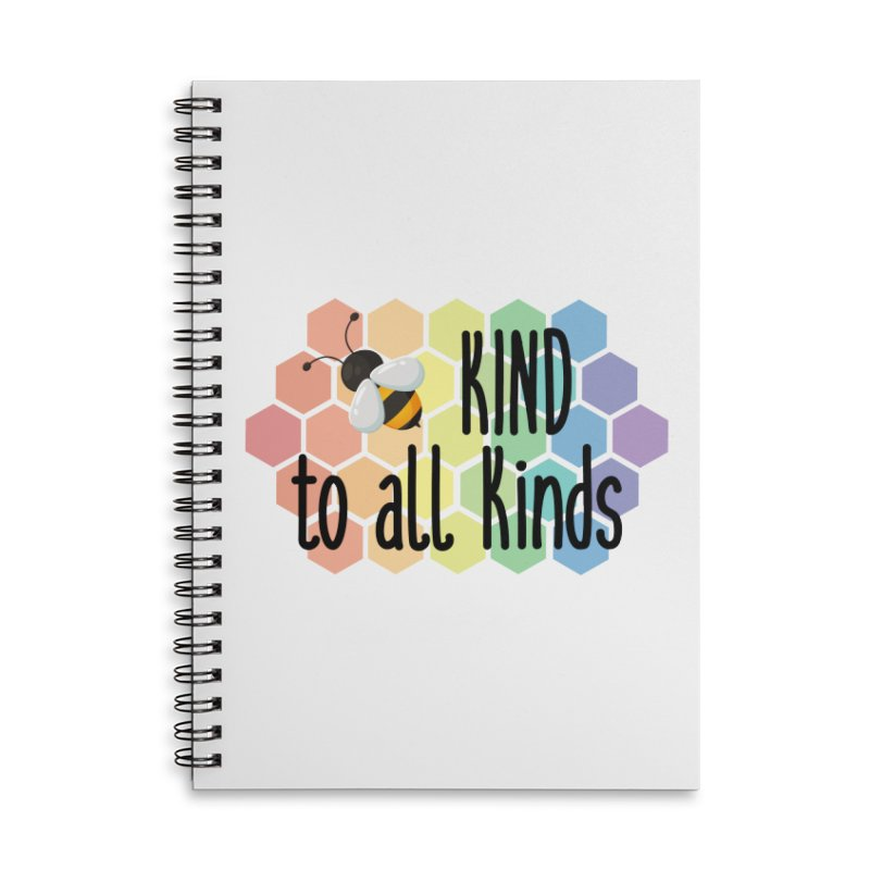 Bee Kind Accessories Notebook by Ms. Christi Design