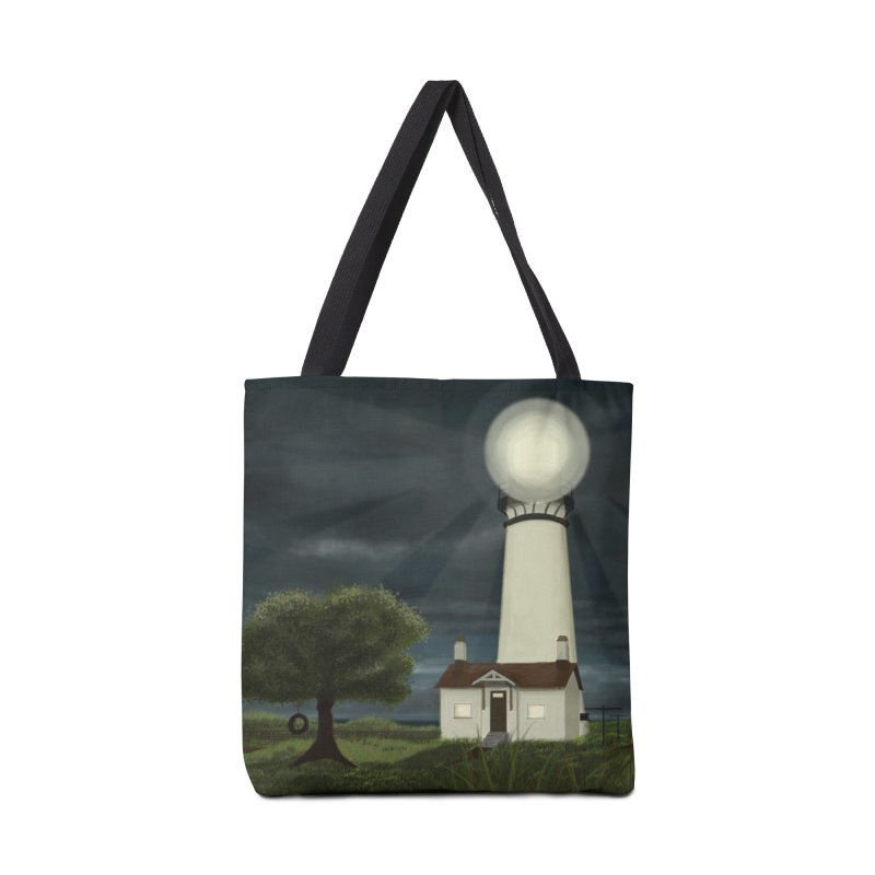 The Lighthouse - Night Accessories Bag by Ms. Christi Design