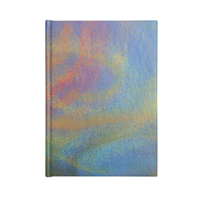 Abstract Seasons: Autumn Accessories Notebook by Ms. Christi Design