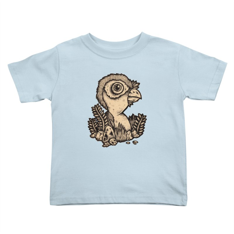 Bird In A Bush Kids Toddler T-Shirt by msieben's Shop