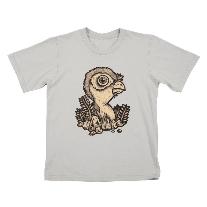 Bird In A Bush Kids T-shirt by msieben's Shop