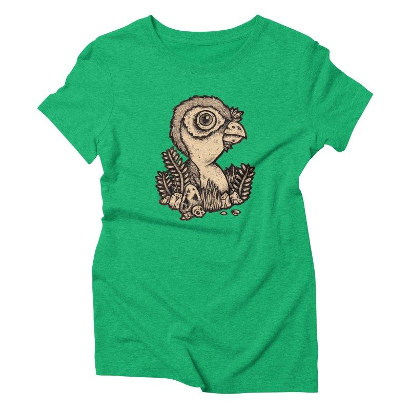 Bird In A Bush Women's Triblend T-shirt by msieben's Shop