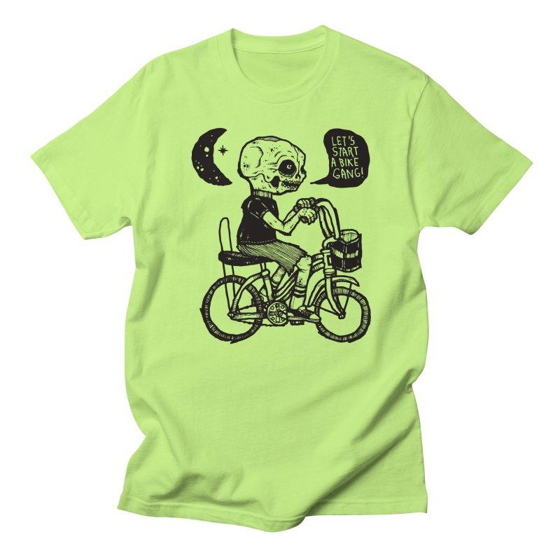 Bike Gang Men's Regular T-Shirt by msieben's Shop