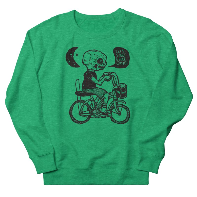 Bike Gang Women's Sweatshirt by msieben's Shop
