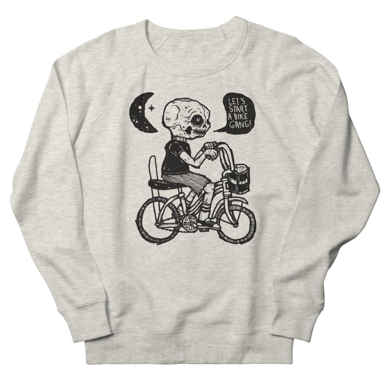 Bike Gang Women's French Terry Sweatshirt by msieben's Shop