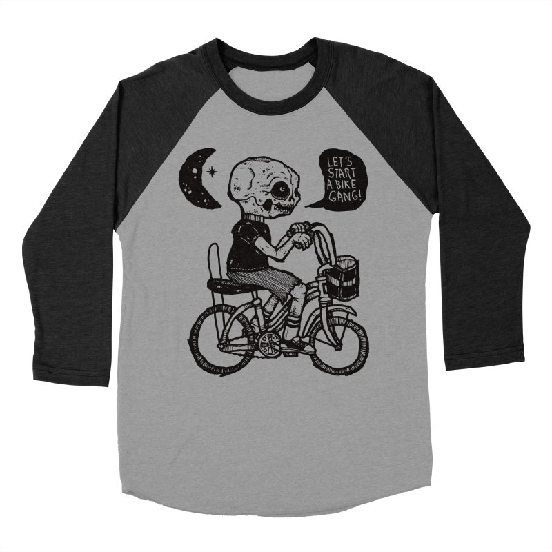 Bike Gang Men's Baseball Triblend T-Shirt by msieben's Shop