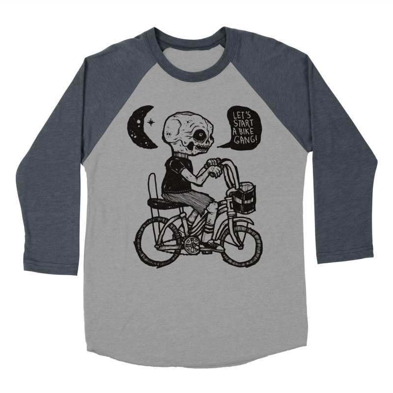 Bike Gang Men's Baseball Triblend Longsleeve T-Shirt by msieben's Shop