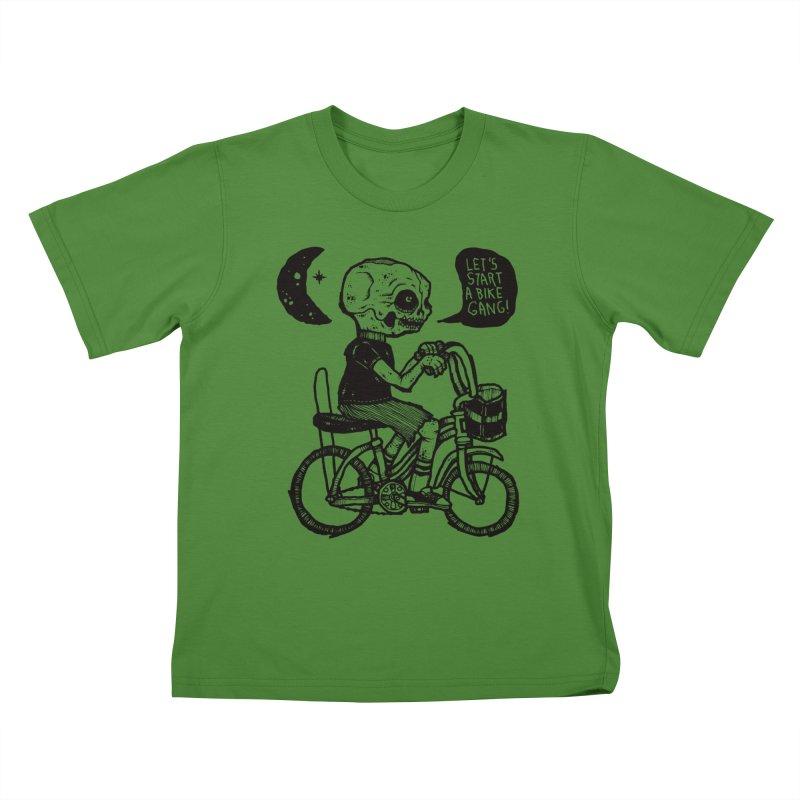 Bike Gang Kids T-shirt by msieben's Shop