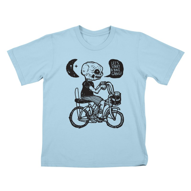 Bike Gang Kids T-Shirt by msieben's Shop