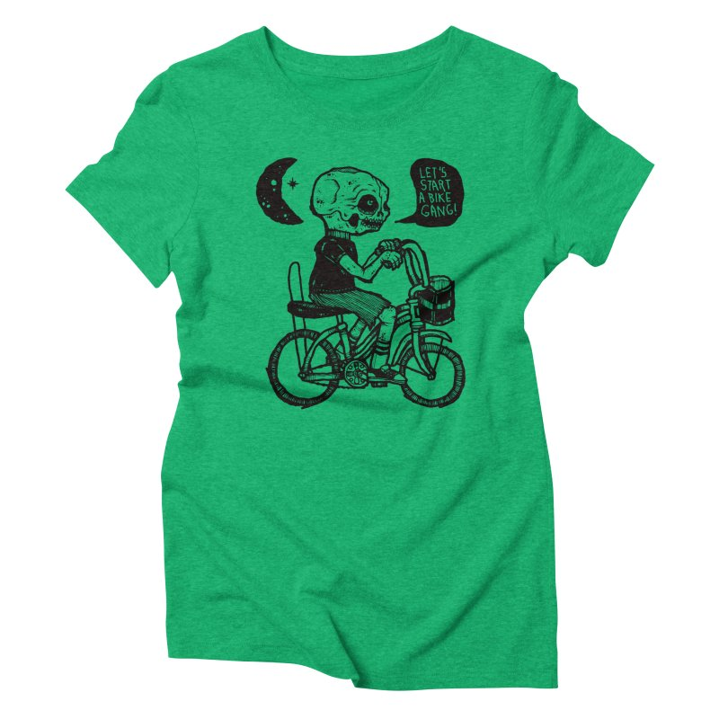 Bike Gang Women's Triblend T-Shirt by msieben's Shop