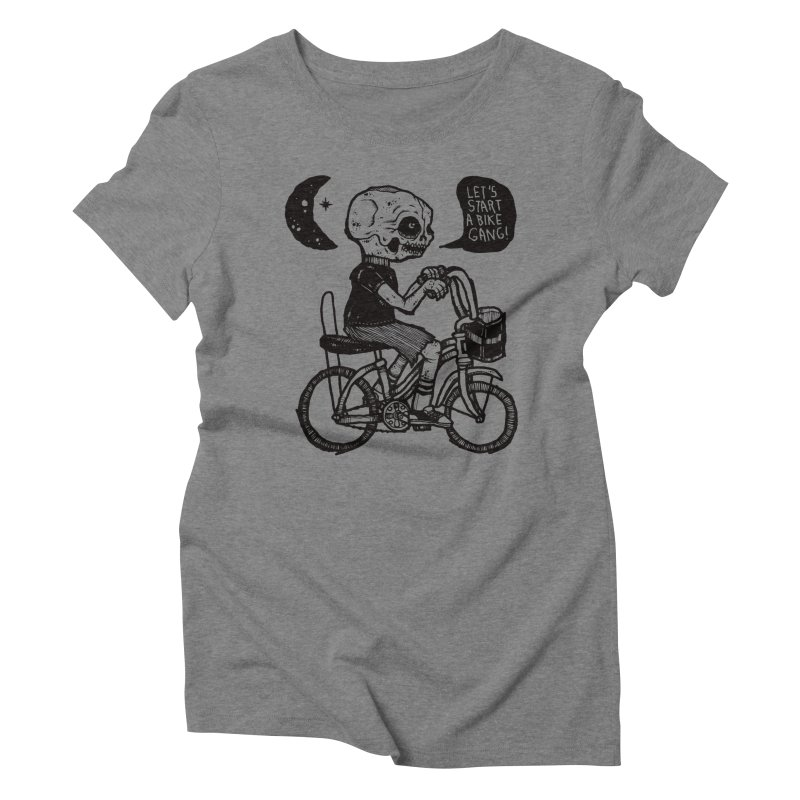 Bike Gang Women's Triblend T-Shirt by msieben's Shop