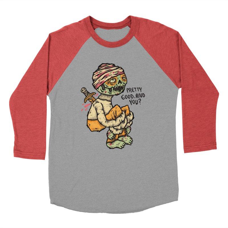 Pretty Good Men's Baseball Triblend T-Shirt by msieben's Shop