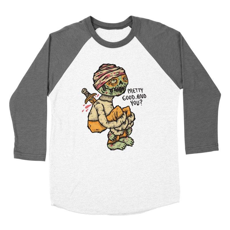 Pretty Good Men's Baseball Triblend Longsleeve T-Shirt by msieben's Shop