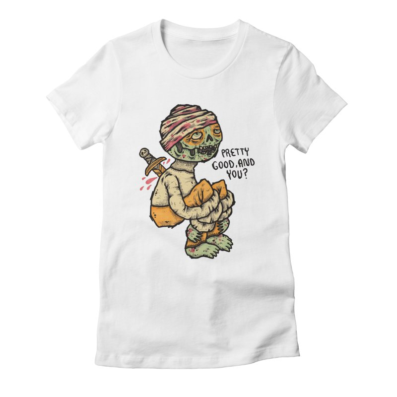 Pretty Good Women's Fitted T-Shirt by msieben's Shop