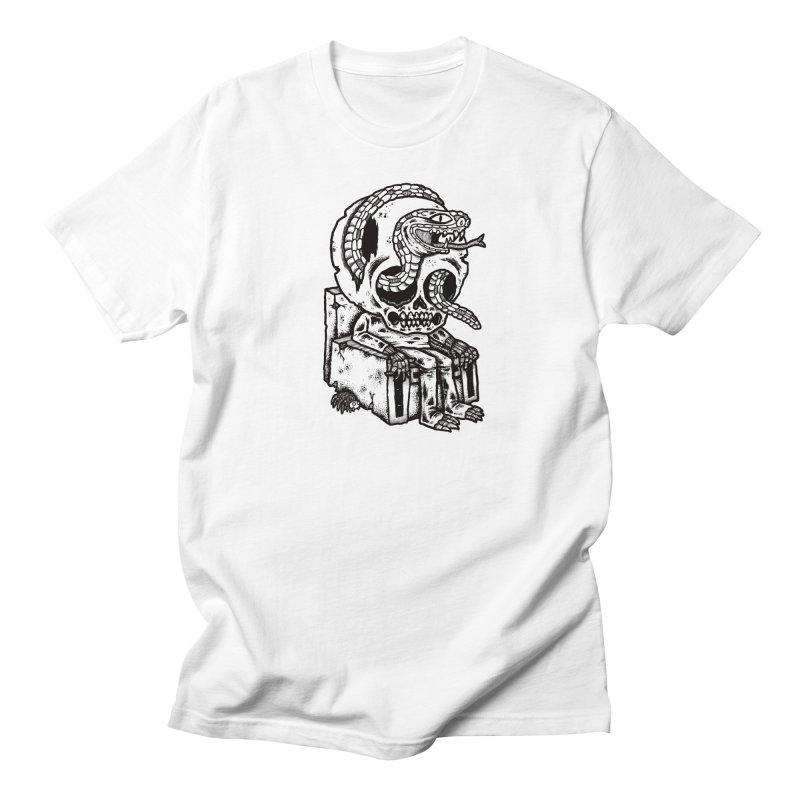 Skulls, Snakes & Spiders Men's Regular T-Shirt by msieben's Shop