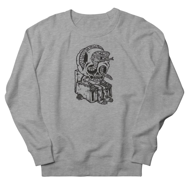 Skulls Snakes Spiders BW Men's Sweatshirt by msieben's Shop