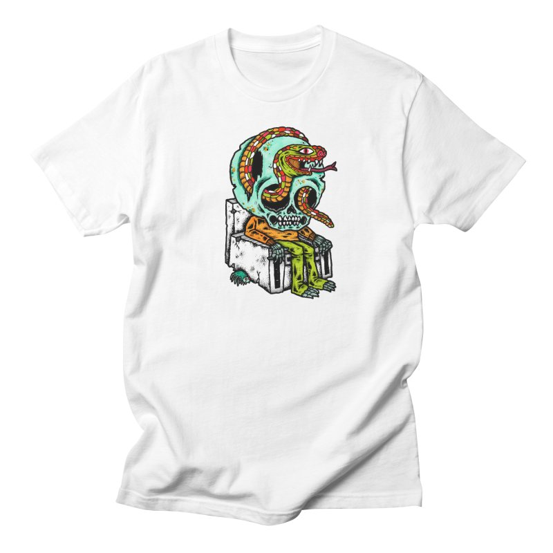 Skulls Snakes Spiders Men's T-Shirt by msieben's Shop