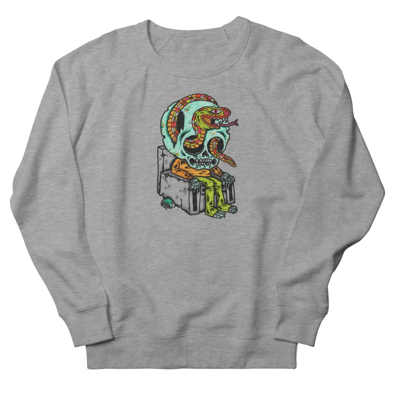 Skulls Snakes Spiders Men's Sweatshirt by msieben's Shop