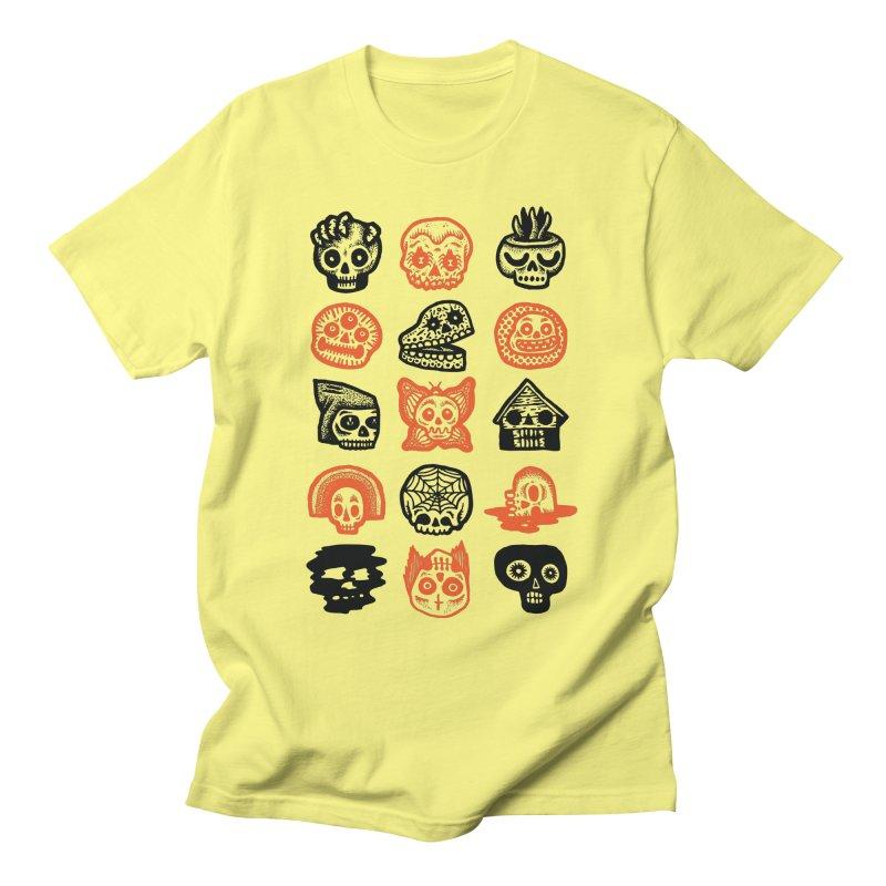 15 Skulls Men's T-Shirt by msieben's Shop