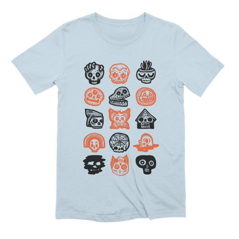 15 Skulls Men's Extra Soft T-Shirt by msieben's Shop