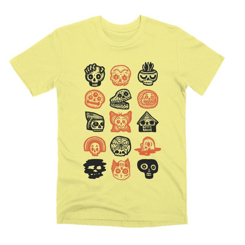 15 Skulls Men's Premium T-Shirt by msieben's Shop