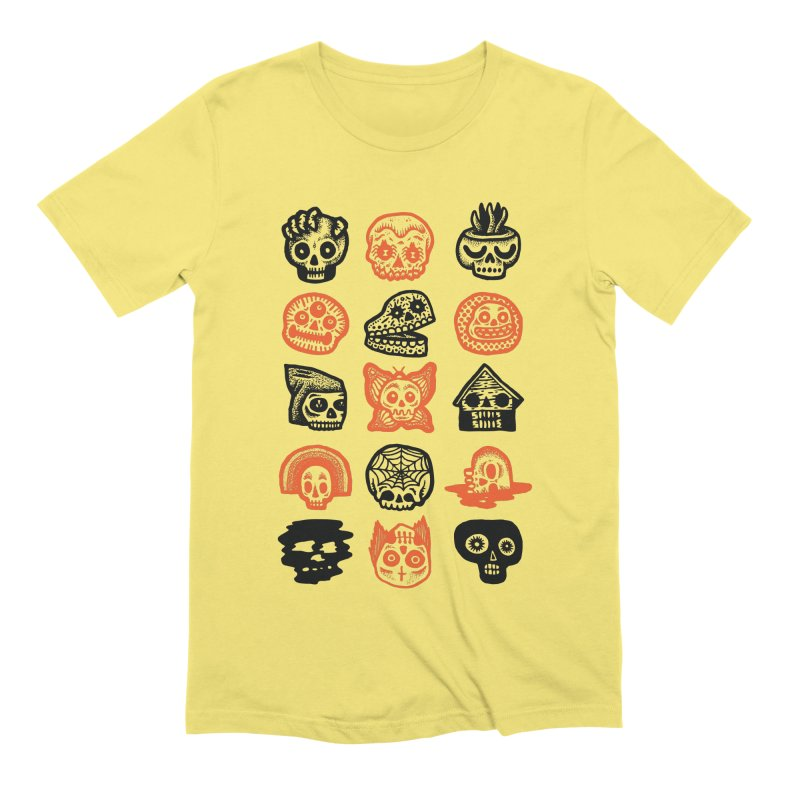 15 Skulls Men's Extra Soft T-Shirt by msieben's Shop