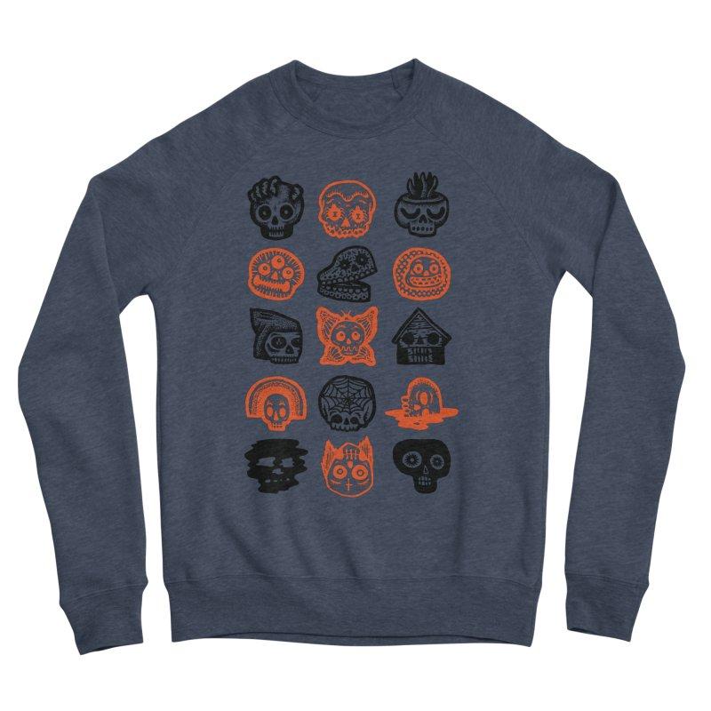 15 Skulls Men's Sponge Fleece Sweatshirt by msieben's Shop