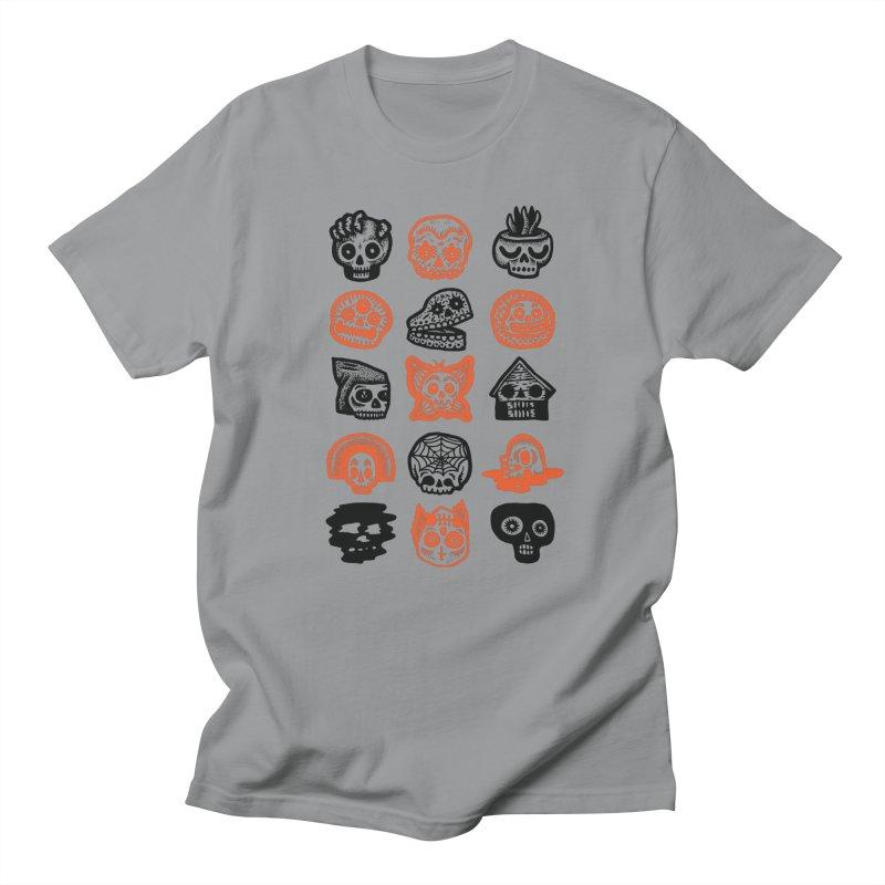 15 Skulls Women's Regular Unisex T-Shirt by msieben's Shop