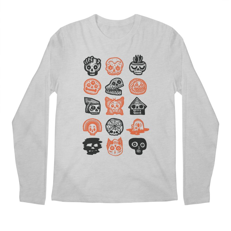 15 Skulls Men's Regular Longsleeve T-Shirt by msieben's Shop
