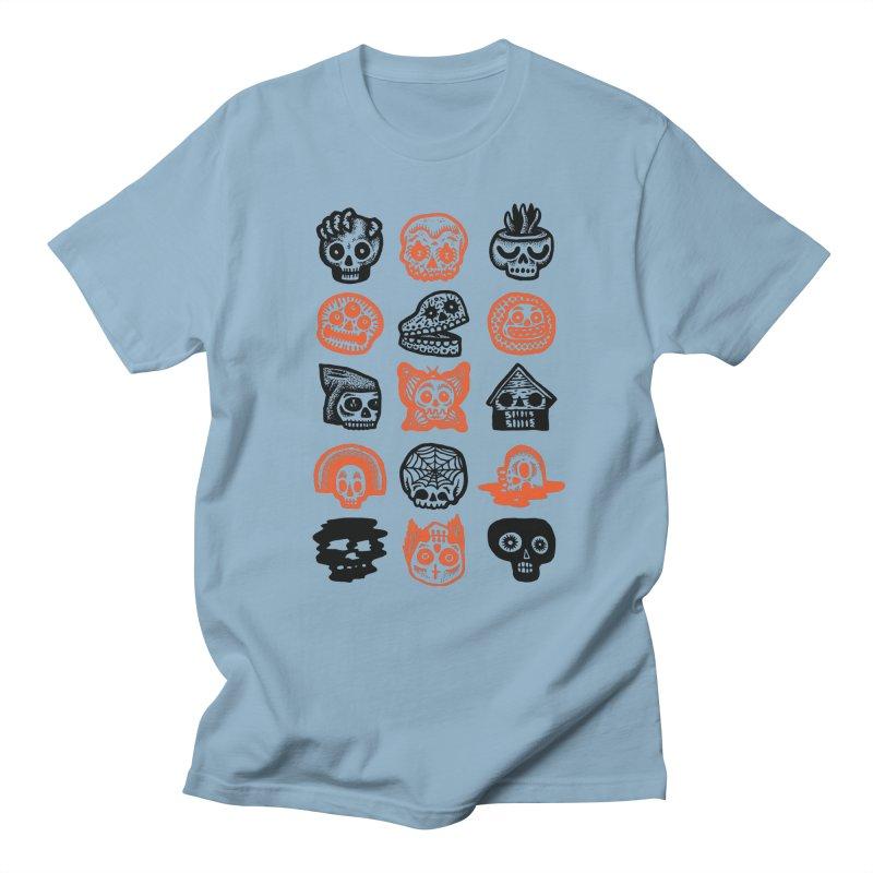 15 Skulls Men's Regular T-Shirt by msieben's Shop