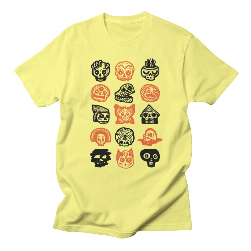 15 Skulls Men's T-Shirt by msieben's Shop