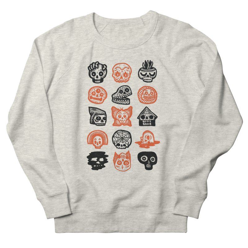 15 Skulls Women's French Terry Sweatshirt by msieben's Shop