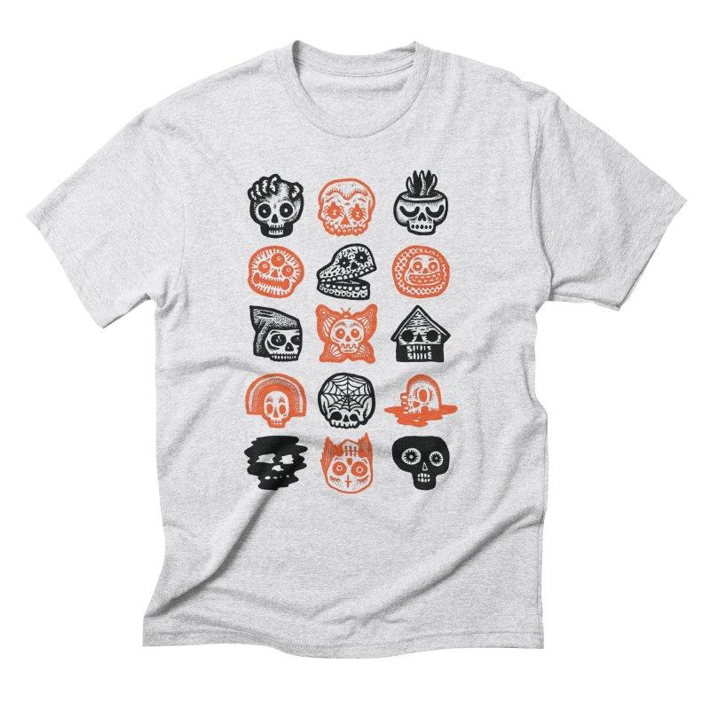 15 Skulls Men's Triblend T-Shirt by msieben's Shop