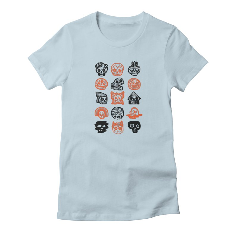 15 Skulls Women's T-Shirt by msieben's Shop