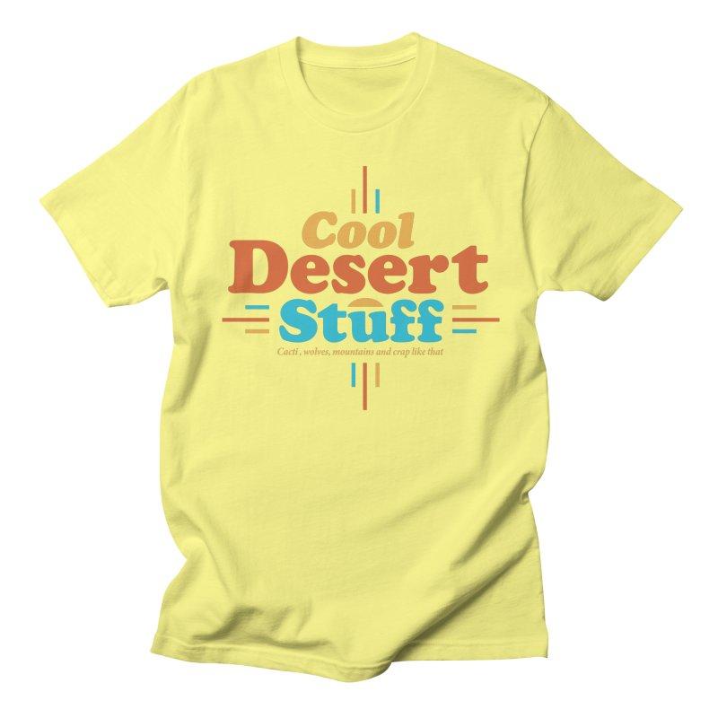 Cool Desert Stuff Men's T-Shirt by msieben's Shop