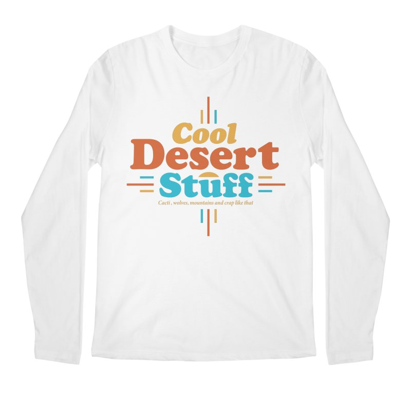 Cool Desert Stuff Men's Regular Longsleeve T-Shirt by msieben's Shop