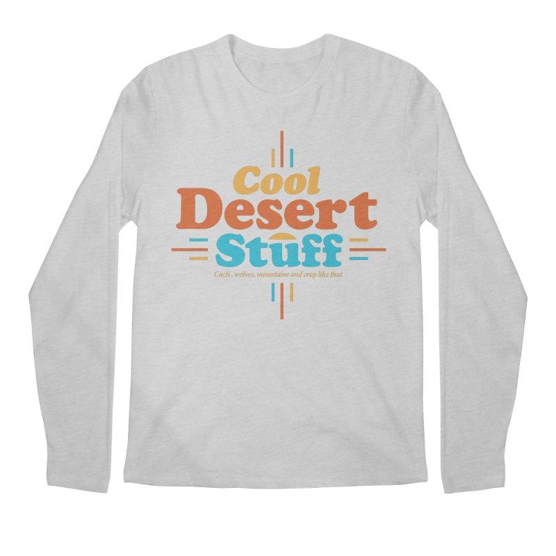 Cool Desert Stuff Men's Regular Longsleeve T-Shirt by msieben's Shop