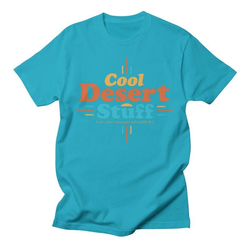 Cool Desert Stuff Women's Regular Unisex T-Shirt by msieben's Shop